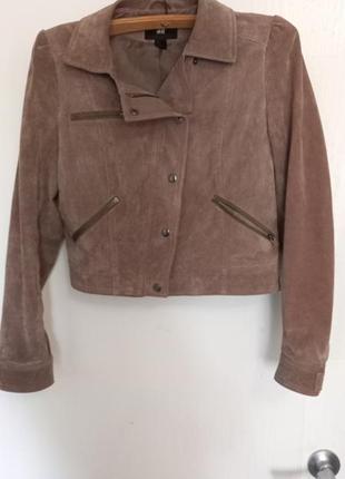 Продам кожаную куртку/косуху h&m1 фото