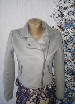 Пиджак-косуха под замш