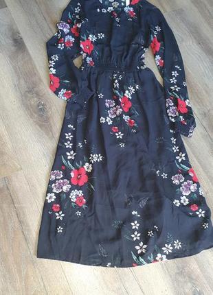 Платье шифоновое р.s-m