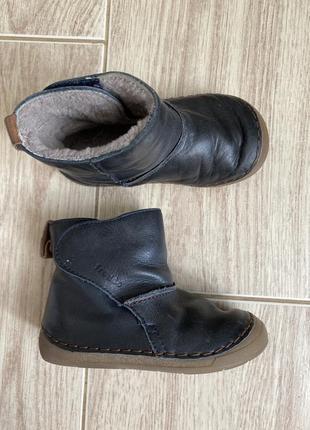Сапожки ботинки на овчине 22 размер