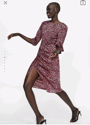 Красивейшее платье миди zara