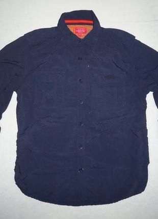 Рубашка трекинговая bear grylls craghoppers туризм синяя (l)