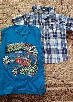 Сорочка + майка, комплект