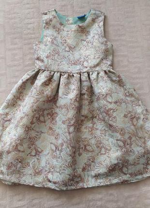 Нарядное платье disney на 7-8 лет