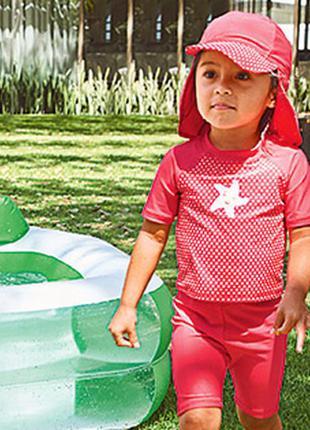 Alive купальный костюм с кепкой защита uv