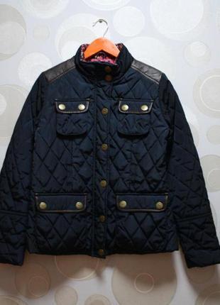 Куртка стеганка i love next на 11-12 лет, 152 рост.