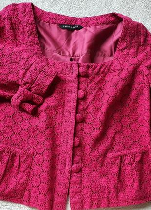 Пиджак из прошвы