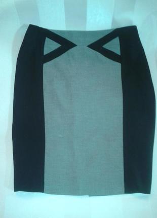 Отличная юбка миди 14р. см.замеры