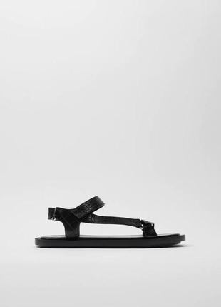 Новые женские сандалии zara 37 босоножки zara