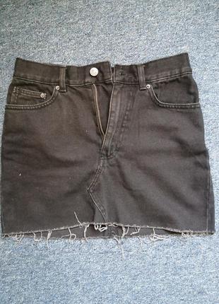 Джинсовая юбка от pull&bear