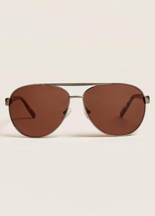 Стильные очки авиаторы calvin klein оригинал1 фото