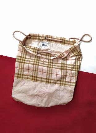 Сумка рюкзак шопер burberry