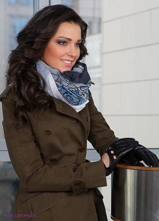 Кожаные перчатки с вырезами немецкого бренда roeckl
