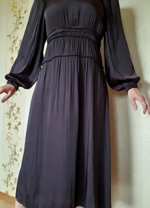 Шикарное платье  миди для торжества от h&m