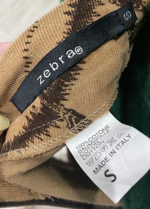 Zebra 🧡вільветова юбка)вельветовая юбка длинны миди в абстрактный принт4 фото