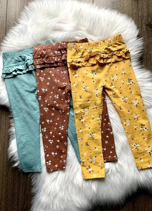 Леггинсы лосины george 2-3 года штаны штанишки легинсы легінси