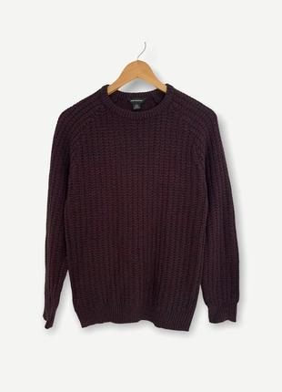 В'язаний свитер свитшот cedarwood state zara мужской