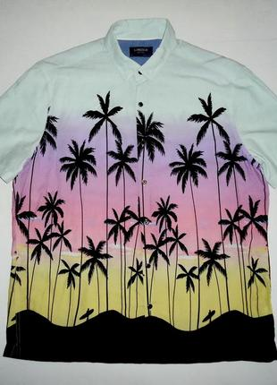 Рубашка гавайская marks & spencer limited гавайка (xl)