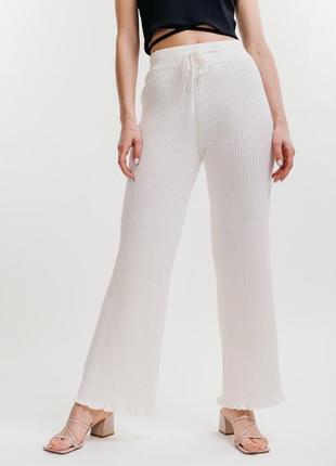 Вязаные штаны