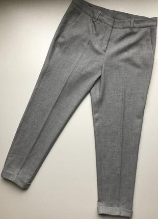Шикарные серые брюки s.oliver состояние новых