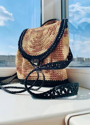 Рюкзак teddy (рафия)