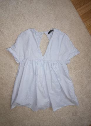 Zara хлопок платье ромпер комбинезон