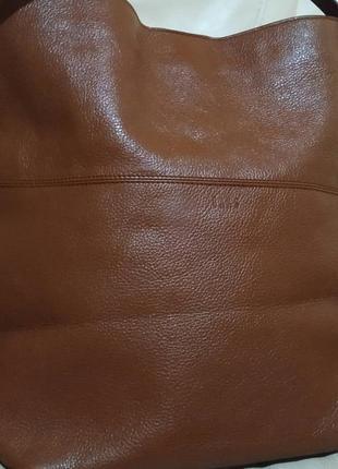 Фирменная сумка dacs. кожа