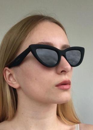 Матовые очки кошачий глаз