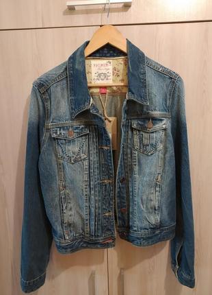 Джинсовая куртка размер с-м