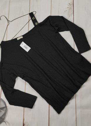 Блуза новая трендовая на одно плечо papaya uk 14/42/l