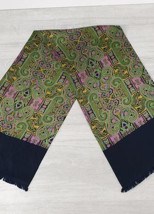 Двуслойный шёлковый шарф