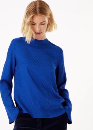 Блуза топ новая шикарная marks&spencer uk 14/42/l