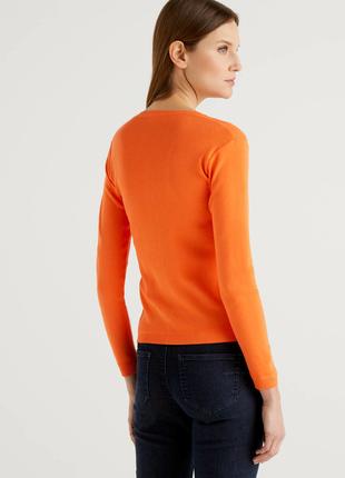 Пуловер , 100 хлопок , размер м , united colors of benetton, италия