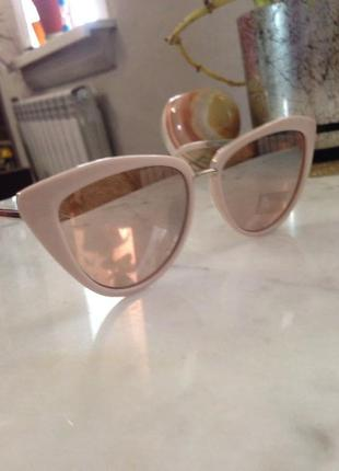 Стильные зеркальные солнцезащитные очки. торг.4 фото