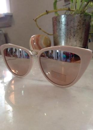 Стильные зеркальные солнцезащитные очки. торг.5 фото
