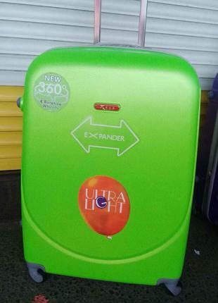 Распродажа чемодан шикарное качество 100% оригинал польша,самовывоз