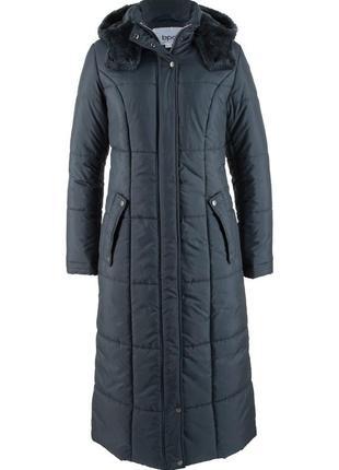 Модне демисезонне пальто батал з капюшоном bonprix ❤❤❤