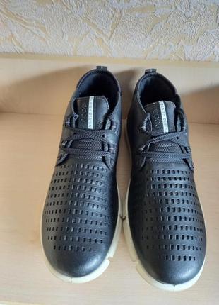 Кожаные кроссовки ecco