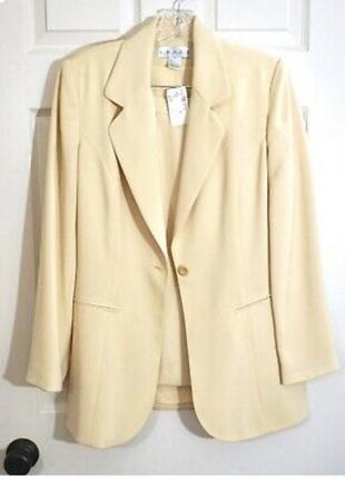 Винтажный костюм ретро пиджак юбка