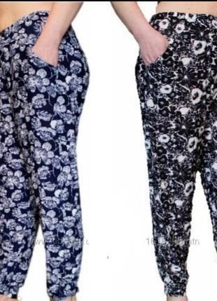 Летние бамбуковые брюки батал