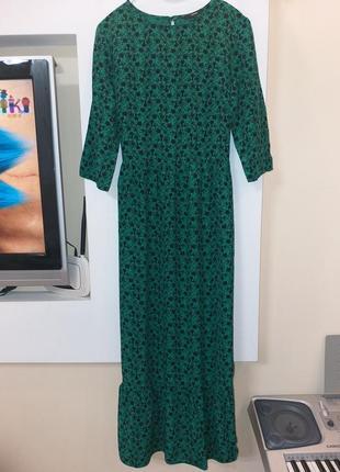 Красивое платье! шикарный цвет!