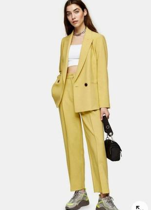Стильный брючный костюм в модном цвете от topshop