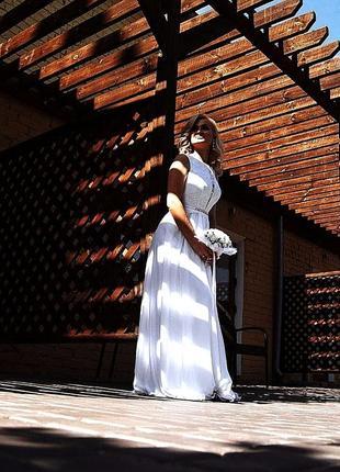 Свадебное воздушное платье