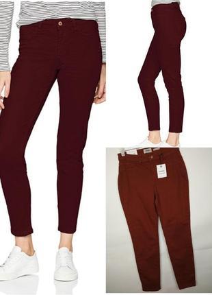Джинсы скинни штаны новые стрейчевые зауженные стильные new look uk 10/38/s
