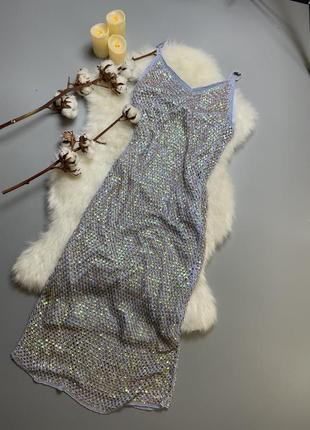 Сукня платье платья платья в паетки паєтки