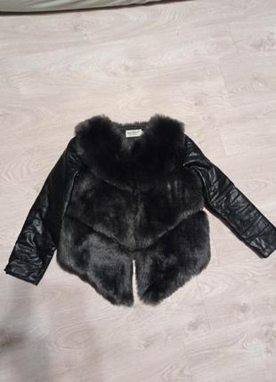 Куртка жилетка меховая трансформер