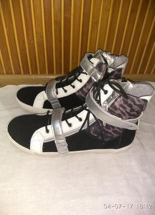 Женские ботинки, кеды франция cache cache