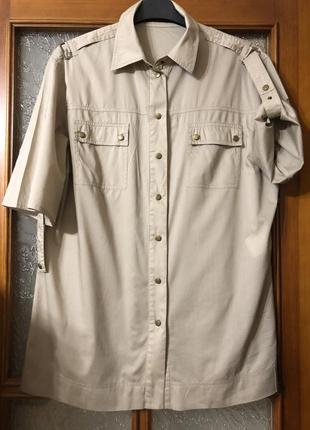 Блуза рубашка милитари сафари taifun