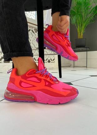 Женские кроссовки nike air max 270 react / жіночі кросівки найк