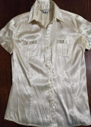 Блузка лёгкая, атласная.